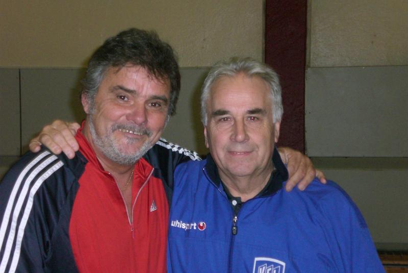Hans-Peter Scharmacher mit Ex-Vize-Weltmeister Berni Jansen